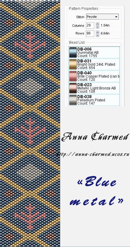 дневники по мозаичному плетению браслетов - Город бисера.